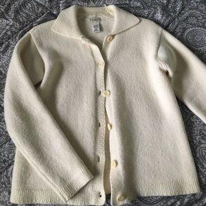 L.L Bean Wool Vintage Cardigan